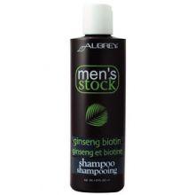 Aubrey Men's Stock Ginseng Biotin Shampoo, 8oz (237ml)
