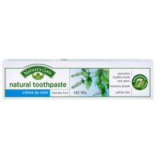 Nature's Gate, Natural Toothpaste, Crème de Mint, Fluoride-Free, 6 oz (170 g)