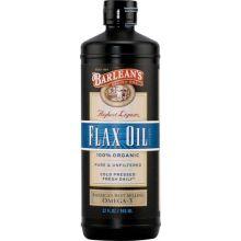 Barlean's 巴宁 有机木酚素亚麻籽油 32 fl oz (946 ml)