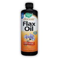 Nature's Way, EfaGold® Flax Oil Organic, 24 fl oz (710 ml)
