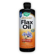 Nature's Way, EfaGold® Flax Oil Organic, 24 fl oz (710 ml)