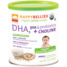 Happy Baby Organic Brown Rice Cereal 198g (7 oz)