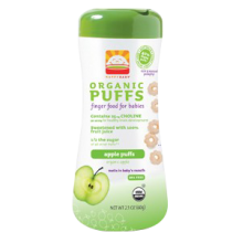 Happy Baby Organic Apple Puffs 60g (2.1 oz)