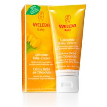 Weleda Calendula Baby Body Cream, 2.5oz (75ml)