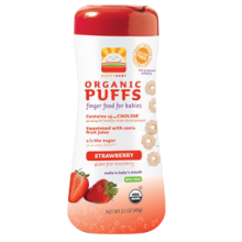 Happy Baby Organic Strawberry Puffs 60g (2.1 oz)