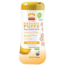 Happy Baby Organic Banana Puffs 60g (2.1 oz)