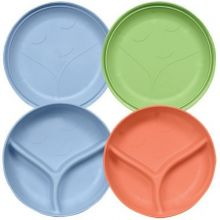 iplay Sprout Ware Plate and Bowl Set 2pk - Boy