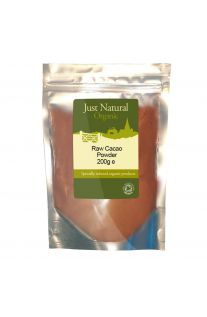 Just Natural Organic Raw Cacao Powder 200g