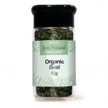 Just Natural Organic Basil (Glass Jar) 12g