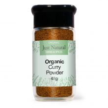 Just Natural Organic Curry Powder (Glass Jar) 48g