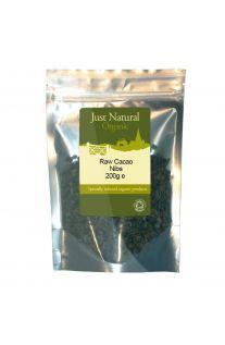 Just Natural Organic Raw Cacao Nibs 200g