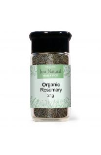 Just Natural Organic Rosemary (Glass Jar) 24g