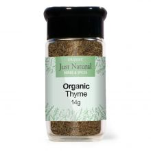 Just Natural Organic Thyme (Glass Jar) 14g