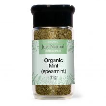 Just Natural Organic Mint (Spearmint) (Glass Jar) 11g