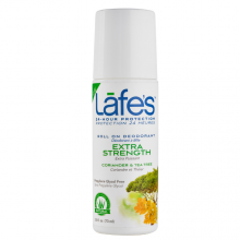 Lafe's Natural Roll-On Deodorant, 2.5oz (73ml) - Extra Strength
