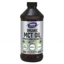 Now Foods 有機 MCT油 - 16 oz