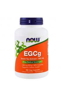 Now Foods, EGCg, Green Tea Extract, 400 mg, 180 Veg Capsules