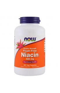 Now Foods, 維他命B3 (聚六煙酸) 500 mg, 180 素食膠囊