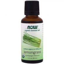 Now Foods Organic Lemongrass Essential Oil 30ml