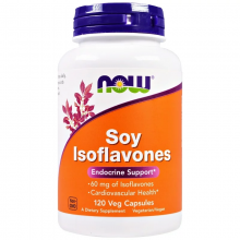 Now Foods, Soy Isoflavones, 120 Veg Capsules
