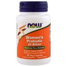 Now Foods, Woman's Probiotic 20 Billion, 50 Veggie Caps