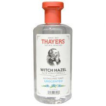 Thayers, Alcohol Free Unscented Witch Hazel Toner with Aloe Vera, 12 fl oz (355 ml)