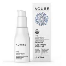 Acure, THE ESSENTIALS™ 有機認證摩洛哥堅果油, 1 oz (30 ml)