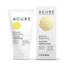 Acure, BRILLIANTLY BRIGHTENING™ 積雪草幹細胞日霜, 50ml