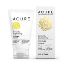 Acure, BRILLIANTLY BRIGHTENING™ FACE MASK, 1.75 oz (50 ml)