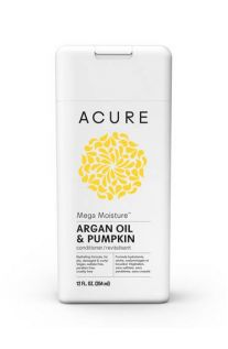 Acure, MEGA MOISTURE™, Argan Oil & Pumpkin Conditioner, 12 fl oz