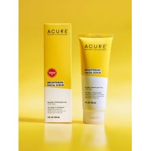 Acure,  BRIGHTENING FACIAL SCRUB , 4 oz (120 ml)