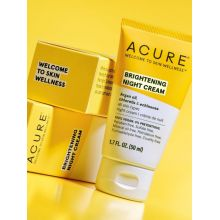Acure, BRIGHTENING NIGHT CREAM, 50ml