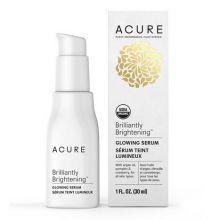 Acure,  BRILLIANTLY BRIGHTENING™ 有機認證緊膚精華, 1 oz (30 ml)