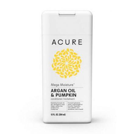 Acure, MEGA MOISTURE™, 摩洛哥堅果油+南瓜油護髮素, 12 fl oz