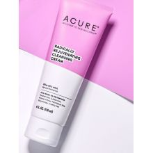 Acure, RADICALLY REJUVENATING 薄荷橄欖油潔面乳, 4 oz (118 ml)