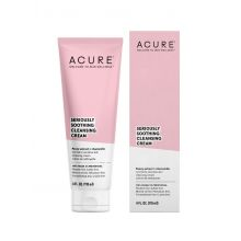 Acure, SERIOUSLY SOOTHING CLEANSING CREAM, 4 oz (118 ml)