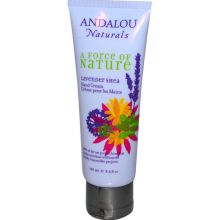 Andalou Naturals, A Force of Nature, Lavender Shea Hand Cream, 100 ml