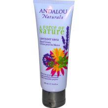 Andalou Naturals, 薰衣草乳木果潤手霜, 100 ml