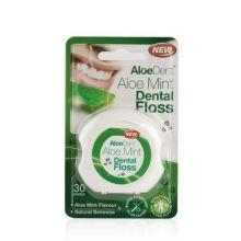AloeDent Aloe Mint Dental Floss, 30 metre