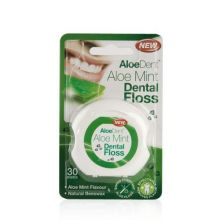 AloeDent Aloe Mint Dental Floss, 30 metre