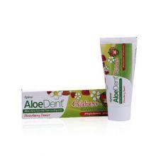 AloeDent, children's strawberry toothpaste, 50ml