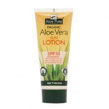 Aloe Pura, Aloe Vera Sun Lotion SPF50, 200ml