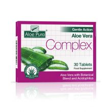Aloe Pura, Aloe Vera Colon Cleanse Gentle - 30 Tablets