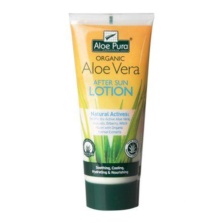 Aloe Pura, 有機蘆薈曬後護理乳液, 200ml