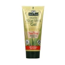 Aloe Pura, Organic Aloe Vera Gel with Tea Tree Oil 200ml