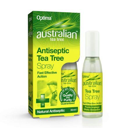 Optima, Australian Tea Tree Antiseptic Tea Tree Spray, 30ml