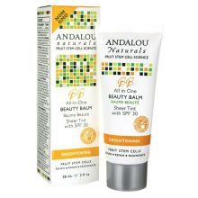 Andalou Naturals, All in One Beauty Balm, Sheer Tint with SPF 30, 2 fl oz