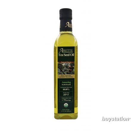 Arette 有機冷壓茶籽油 (山茶花油), 500ml