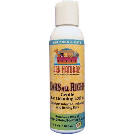 Ark Naturals, Ears All Right, 溫和耳朵清潔液, 4 fl oz (118.3 ml)