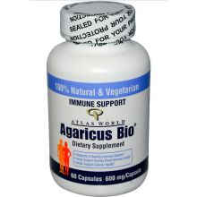 Agaricus Bio, 600mg - 60 Caps